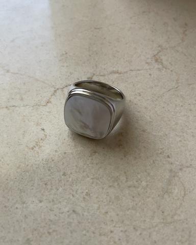 Кольцо Хейз, серебряный цвет
