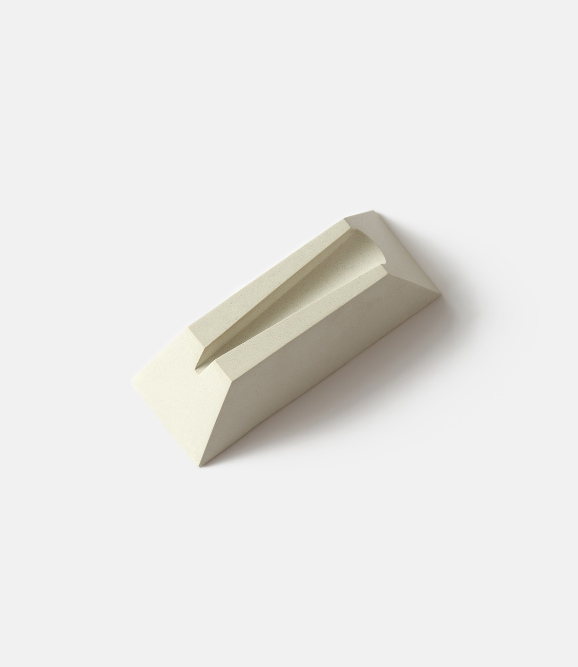 Craighill Desk Knife Plinth White — подставка для ножа: белый