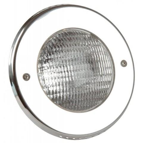 Светильник встраиваемый галогенный Vitalight 300Вт/12В, накладка AISI-316L, корпус RG-бронза, бетон, кабель 2 м