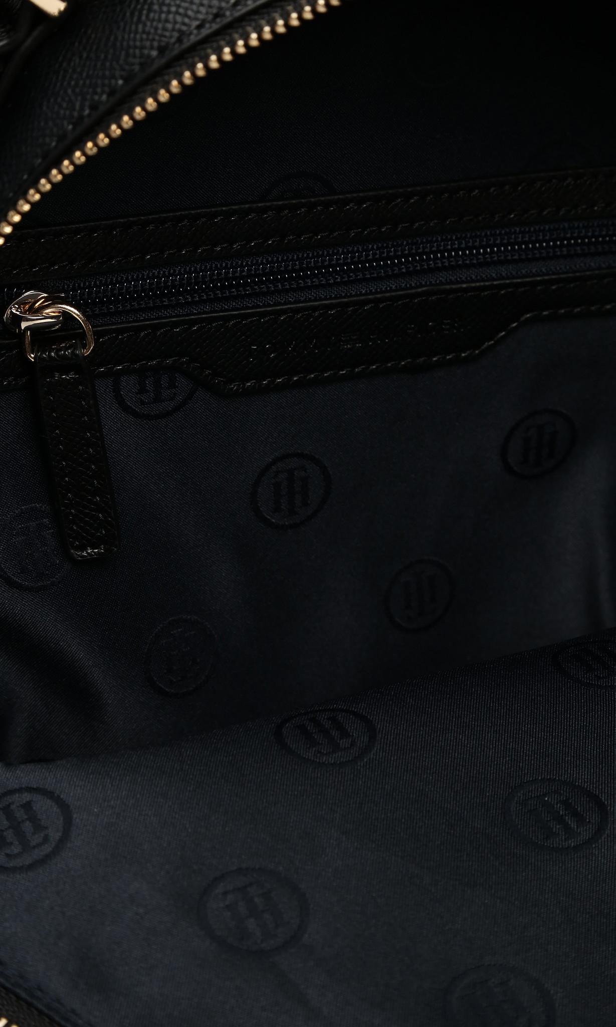 Женский черный рюкзак CLASSIC SAFFIANO Tommy Hilfiger