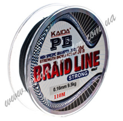 Плетенка BRAID LINE KAIDA strong YX-112-18