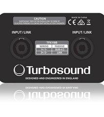 Сабвуферы пассивные Turbosound TPX118B