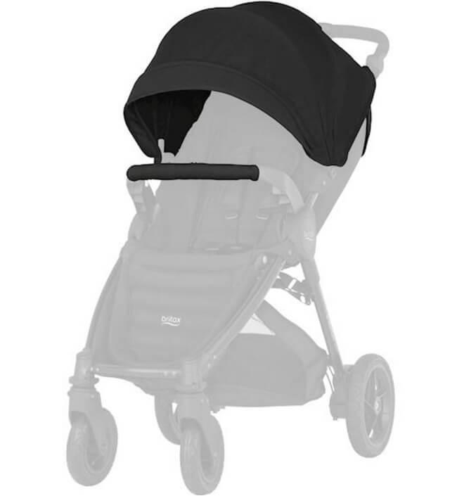 Капор для коляски B-Agile 4 Plus, B-Motion 4 Plus, B-Motion 3 Plus Капор для коляски B-Agile 4 Plus, B-Motion 4 Plus, B-Motion 3 Plus Cosmos Black kapor_cosmos-black.jpg