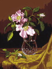 G-712 Ваза с кустовыми розами