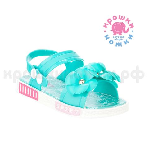 Туфли пляжные мятные цветы, Kapika