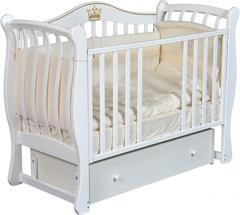 Детская кроватка Luiza 33 универсальный маятник+ящик