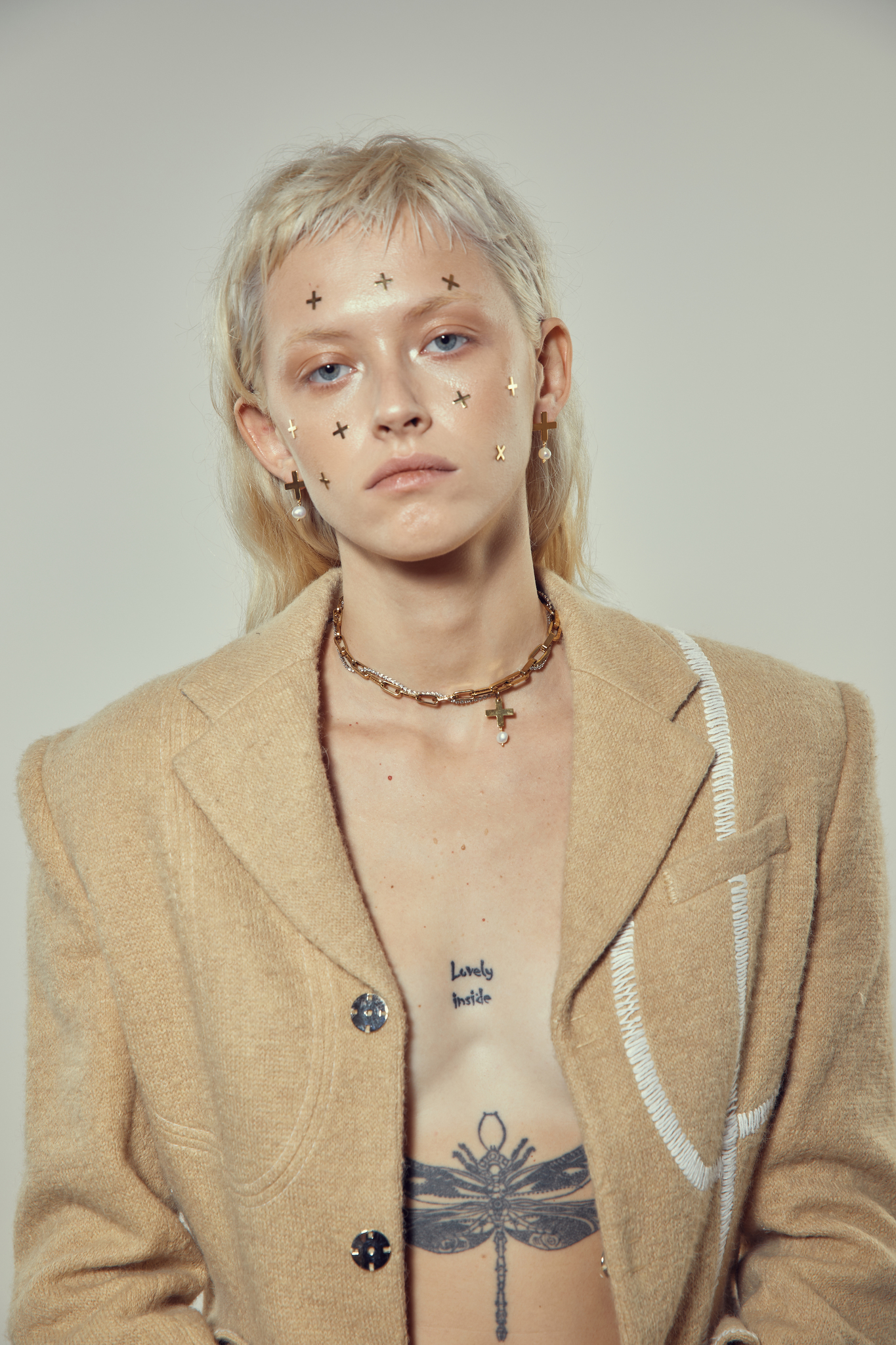 Чокер Chain with Pearl