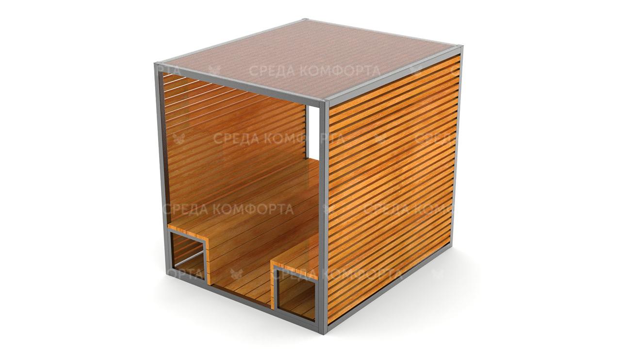 Скамейка с навесом SCAM0100