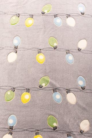 Плед с рукавами Gekoko «Лампочки» неоновый 10