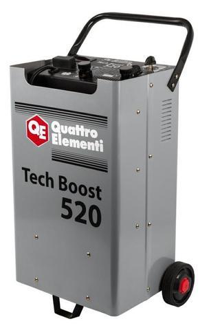 Пуско-зарядное устройство QUATTRO ELEMENTI Tech Boost 520 ( 12 / 24 Вольт, заряд до 75А, п (771-466)