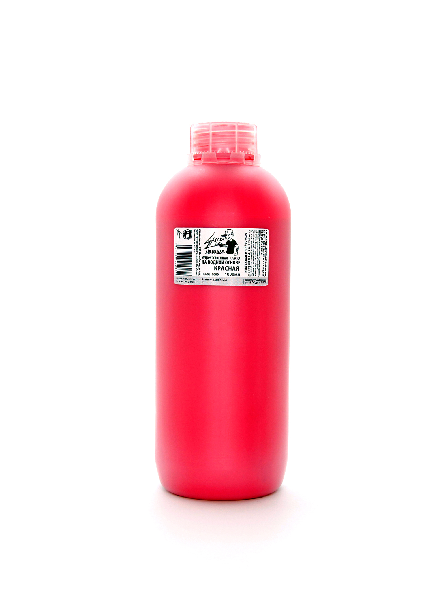 Exmix Краска укрывистая Exmix 03 Красный 1000 мл US-03-1000.jpg