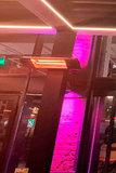 Карбоновый обогреватель настенный Luxeva LXV 2500-HR Black