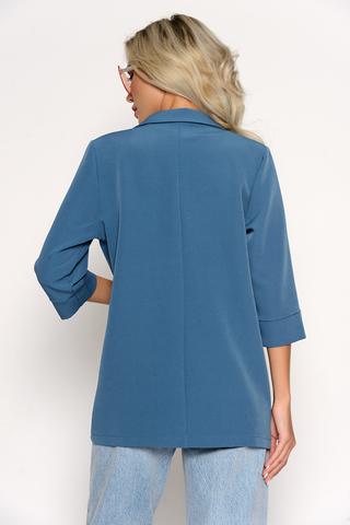 <p><span>Такой пиджак пригодится в гардеробе любой женщины для повседневного ношения и для деловых свиданий. Элегантность, утонченность, привлекательность и функциональность - вот основные достоинства модного образа.&nbsp;</span><span>(Длина: 44-74см; 46-75см; 48-76см; 50-77см; 52-78см)</span></p>