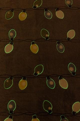 Плед с рукавами Gekoko «Лампочки» неоновый 11