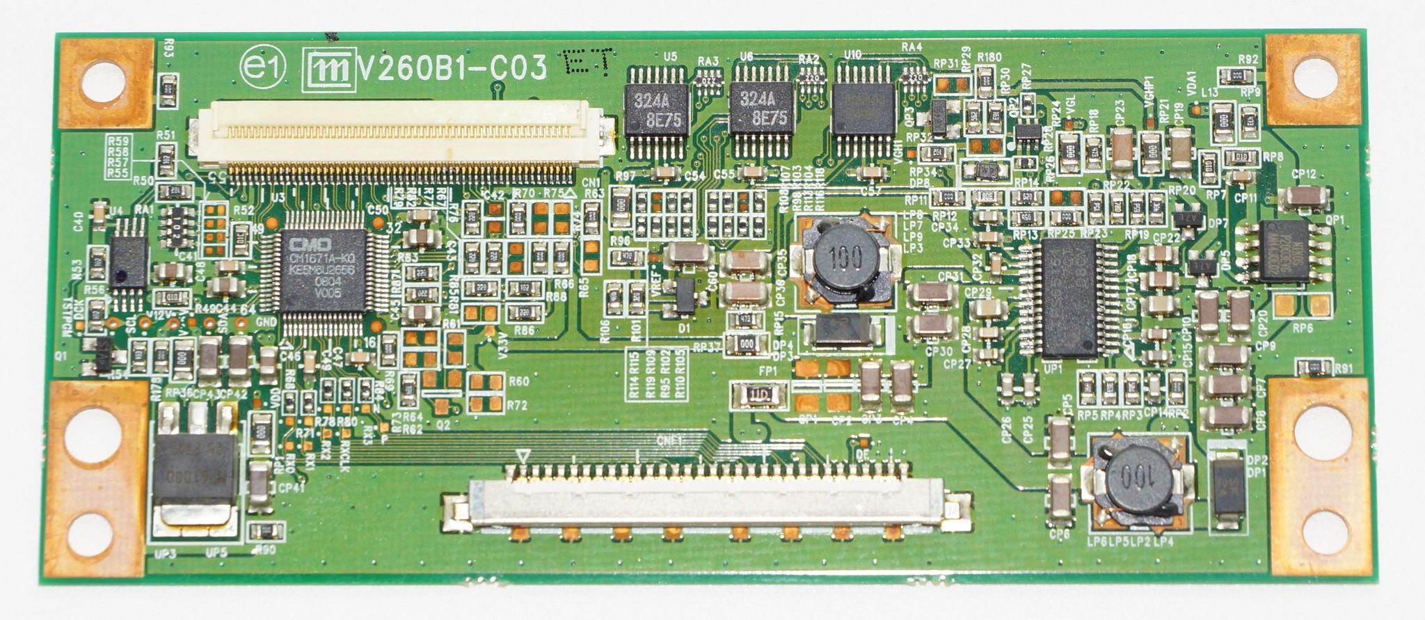 V260B1-C03 t-con телевизора LG