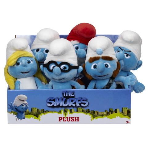 The Smurfs Movie Bean Bag Plush Series 01 - Set of 3