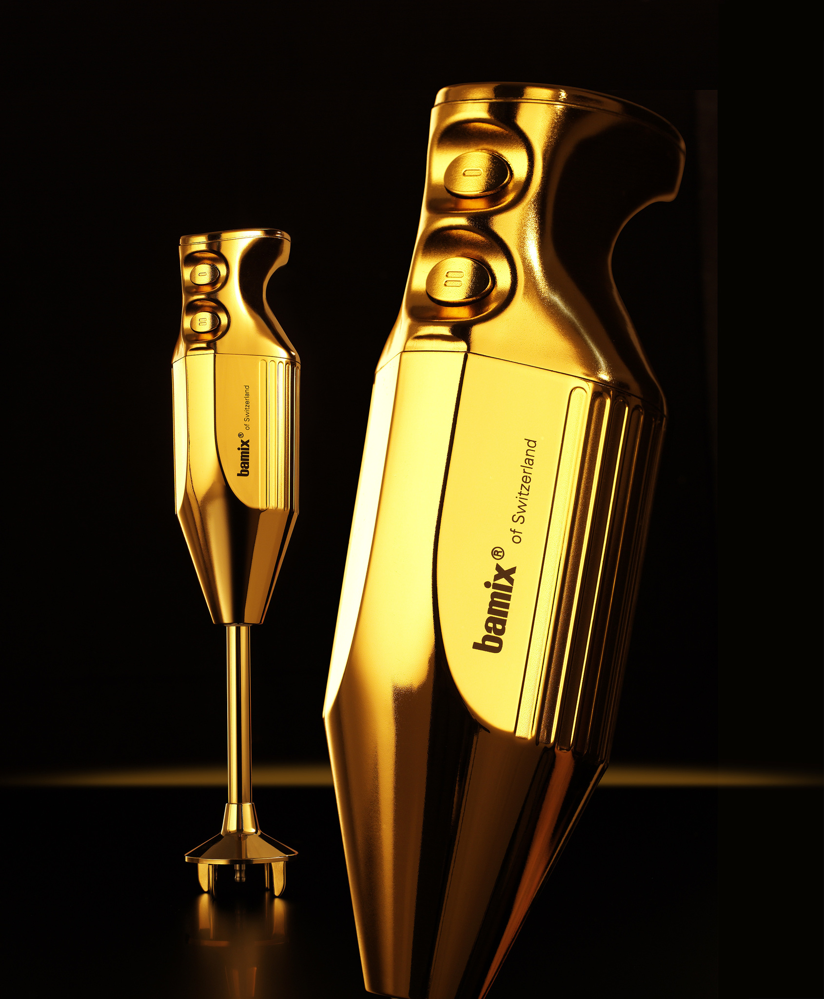 Блендер Bamix LuxuryLine M200 Gold Queen