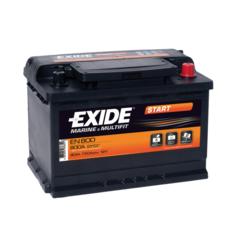 Battery Exide, Marine Type, 12V, 90 Ah, 353x175x190mm