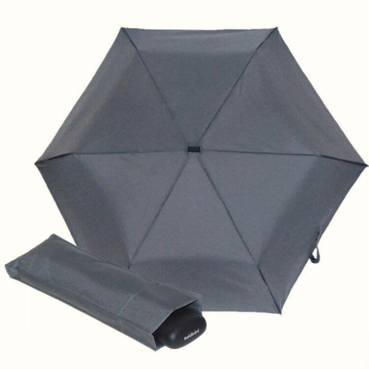 Зонт мини Baldinini 722563-3-Supermini FLAT GRIGIO