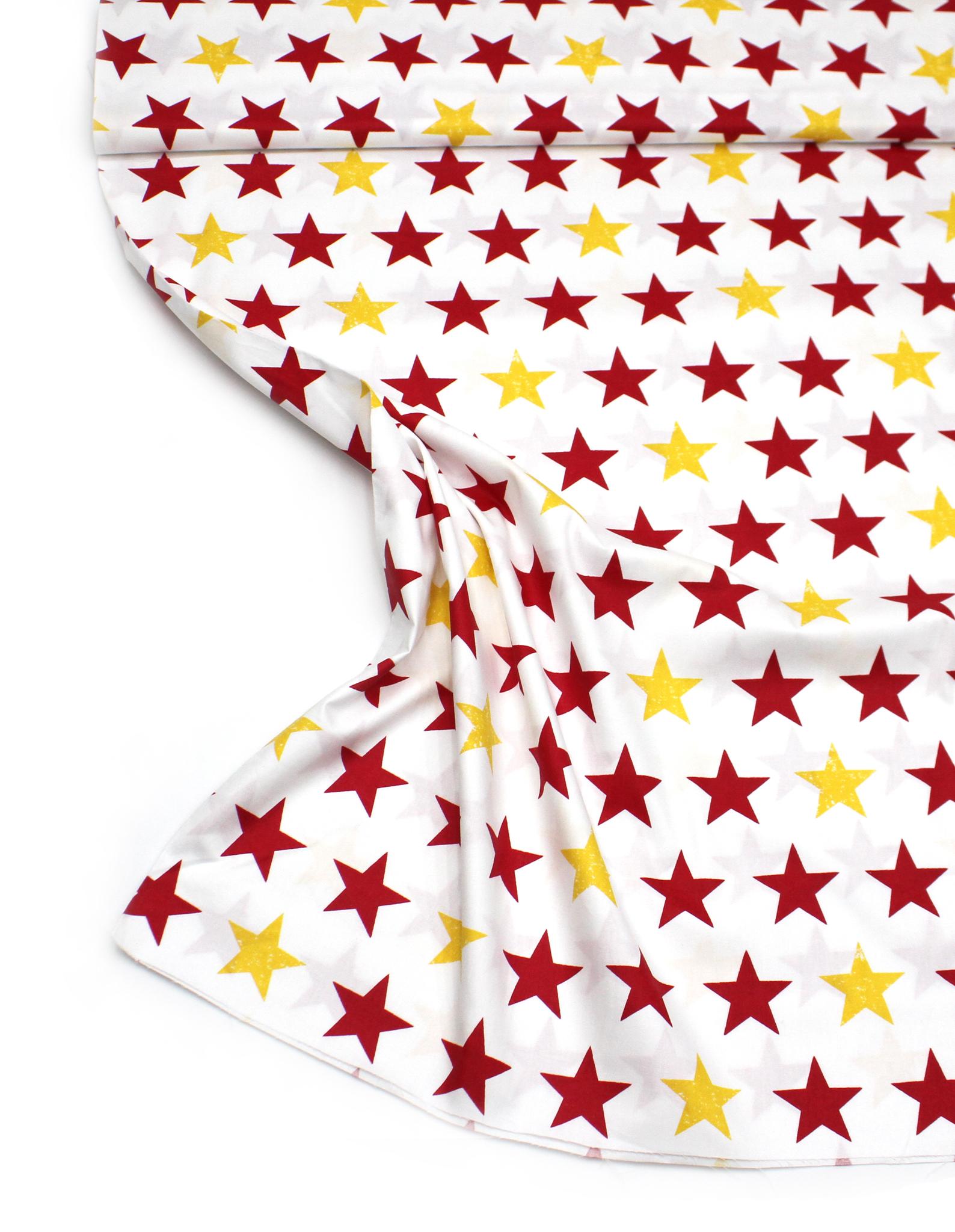 Звезды желто-красные