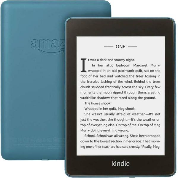 Amazon Kindle PaperWhite Электронная книга Amazon Kindle PaperWhite 2018 8GB Blue (синий) blue1.jpg