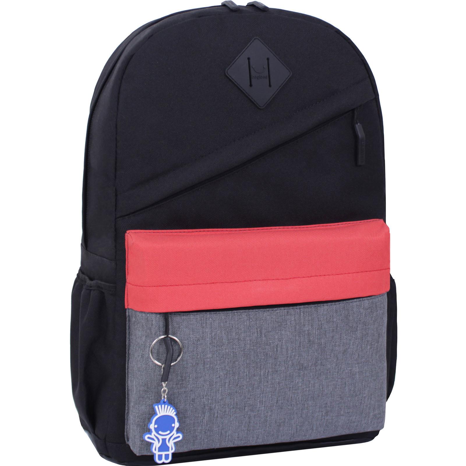 Молодежные рюкзаки Рюкзак Bagland Fire 19л. черный/красный (0014466) IMG_3209.JPG