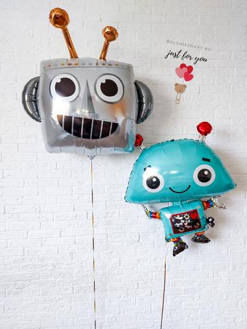 Воздушные шары роботы