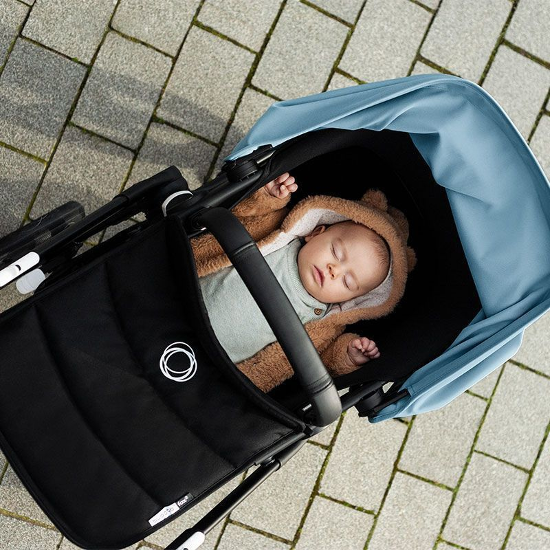 Коляска 2 в 1 Bugaboo Fox2 Complete Alu/grey melange/fresh white