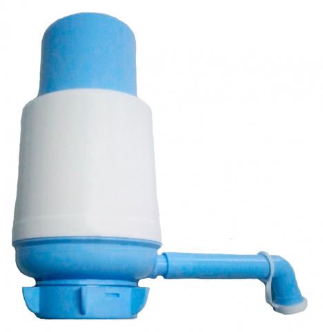 Помпа для 19л бутыли Vatten №5 механический белый/синий