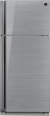 Холодильник с верхней морозильной камерой Sharp SJ-XP59PGSL
