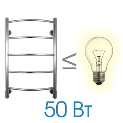 Полотенцесушитель электрический H G6 Energy  800x500