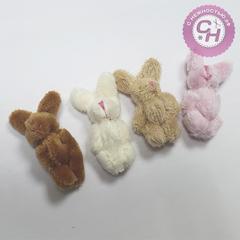 Игрушки для кукол - Заяц, 5-6 см.