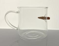Кружка для напитков с пулей, 380 мл, фото 2