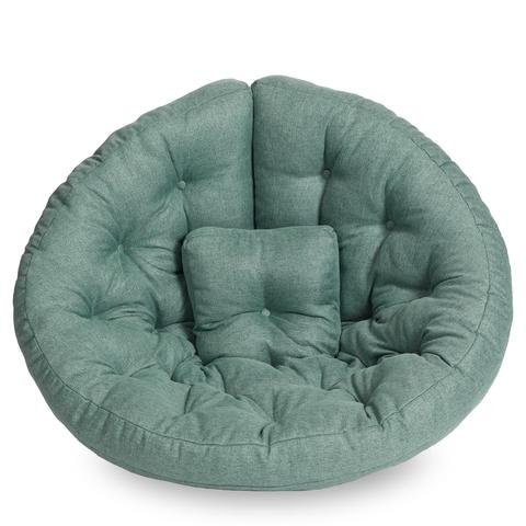 Бескаркасное кресло-футон «Оустер», Мятный