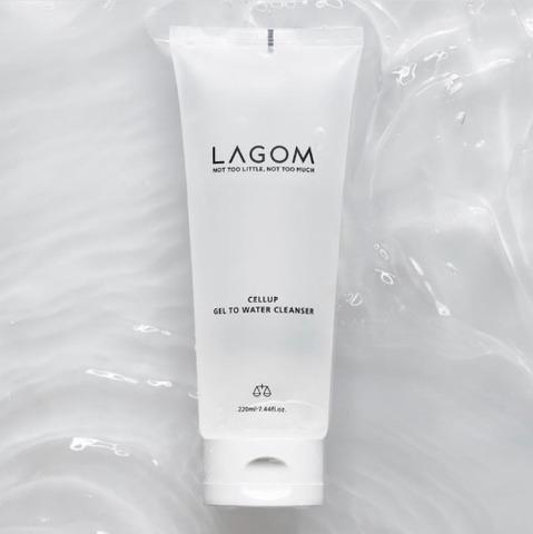 Деликатный гель для умывания Lagom Gel To Water Cleanser 170ml