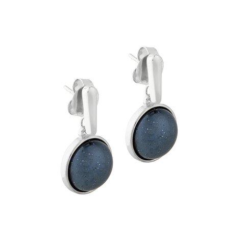 Серьги Pearl Blue Aventurine A1995.23 B/S