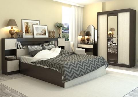 Спальня Бася-01 венге, дуб белфорд