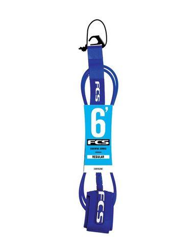 Лиш FCS 6' Regular Leash 7mm Blue Glass