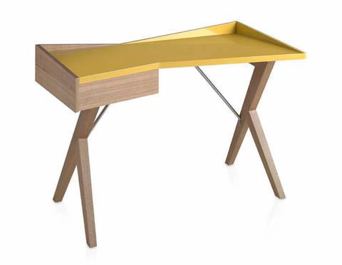 Стол Comodidad желтый W1010OT-ROBLE Ral 1032