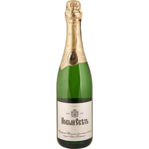 Шампанское выдер.Новый Свет бел. п/сл. 13* Алкомаркет 0,75л