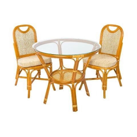 Комплект обеденный (стол Ellena, 11/22-A К и 2 стула 04/22 К)