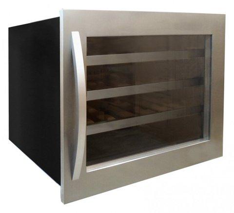 Встраиваемый винный шкаф IP Industrie JG 22-6 AX