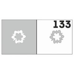 Трафарет для ногтей 6 шт. /1 уп. №133