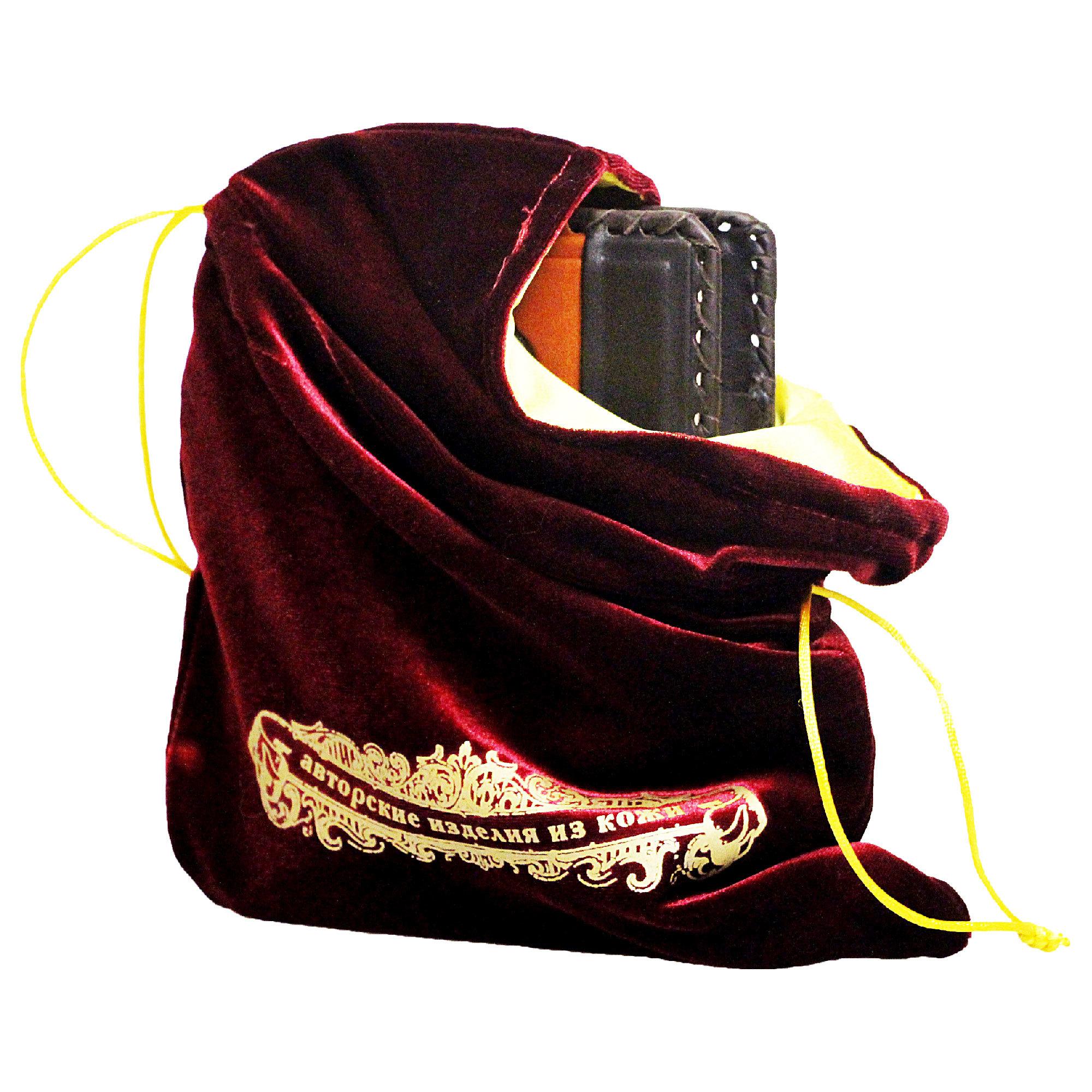 Мешок подарочный М-2 бордо