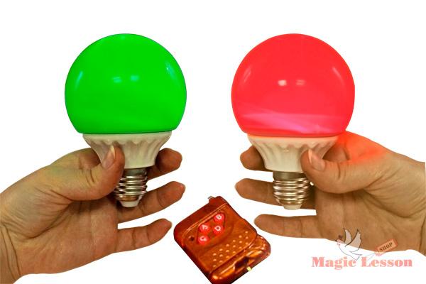 Лампочка для фокусов на пульте