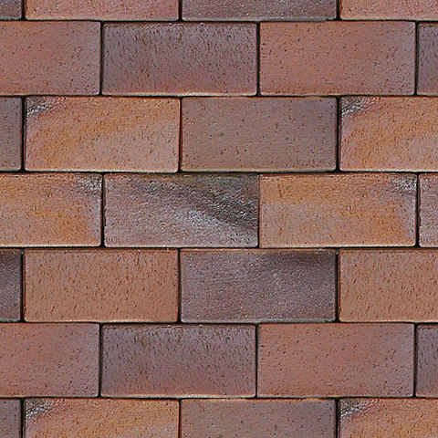 ABC Carbo rot-bunt-Kohlebrand, 200x100x52 - Тротуарная клинкерная брусчатка