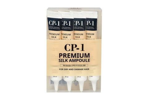 НАБОР Сыворотка для волос ПРОТЕИНЫ ШЕЛКА CP-1 Premium Silk Ampoule, 20мл*4шт ESTHETIC HOUSE