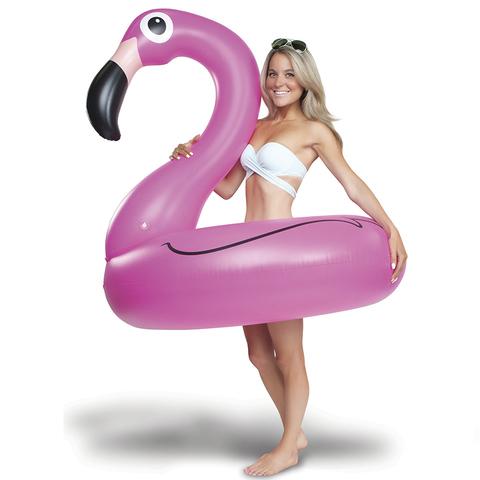 Круг надувной bigmouth, pink flamingo
