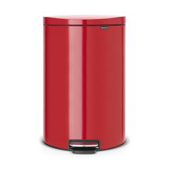 Мусорный бак FlatBack+ (40л), Пламенно-красный