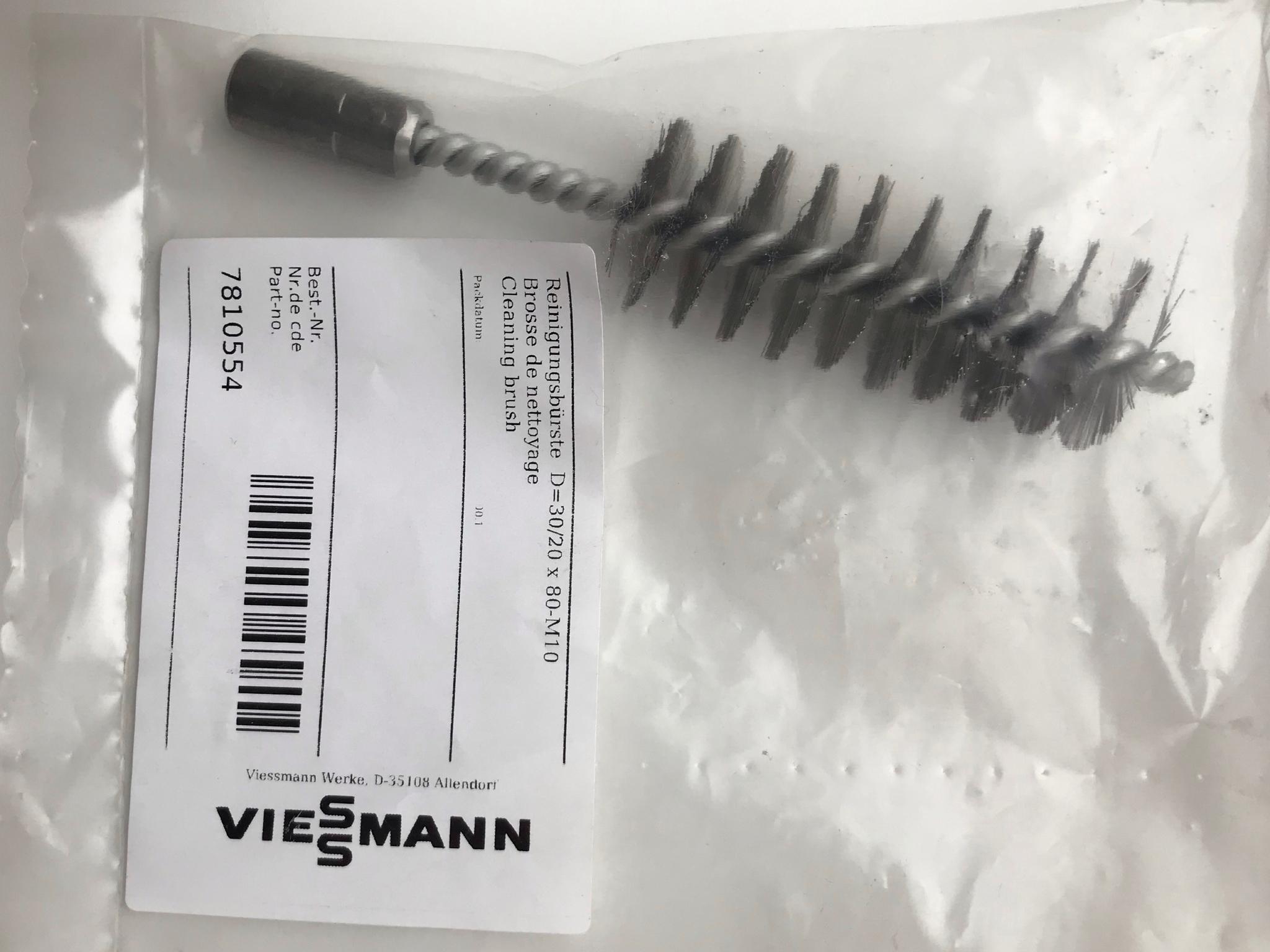Щетка для чистки котла 30х30х80 мм, 7810554 Viessmann